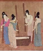 Výroba hedvábí v Číně, počátek 12. století